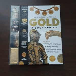 NEW The British Gold book & art kit